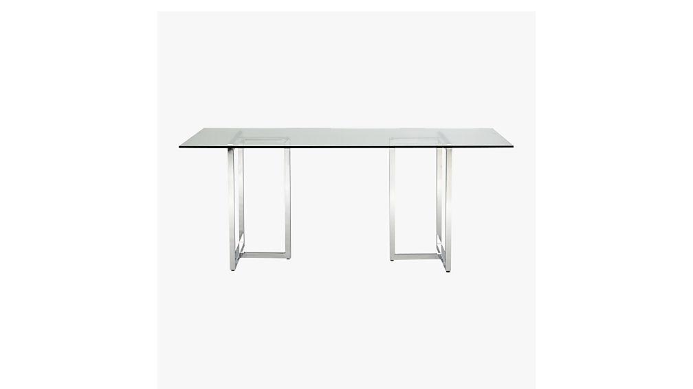 silverado 72 chrome dining table Reviews CB2