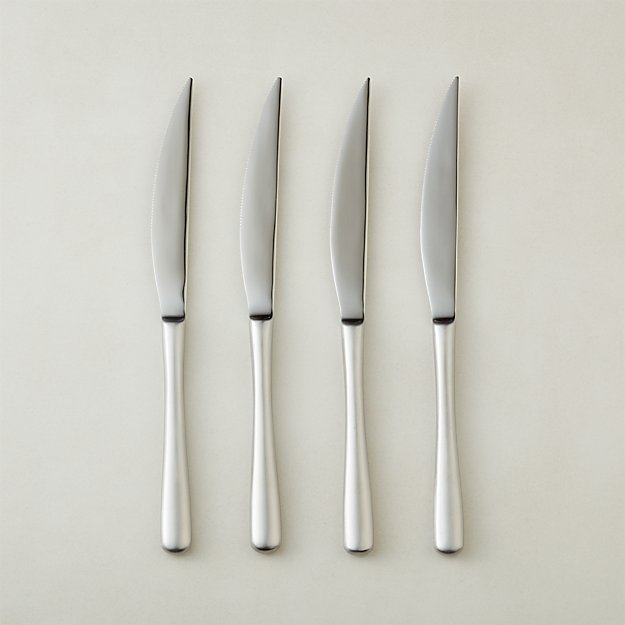 Sizzle Silver Steak Knives Set of 4 - Image 1 of 2