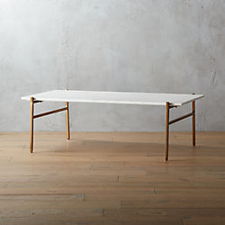 989ab27340f4c slab large marble coffee table with brass base