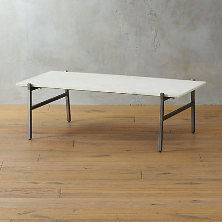 Marble And Silver Coffee Table.Slab Small Marble Coffee Table With Antiqued Silver Base