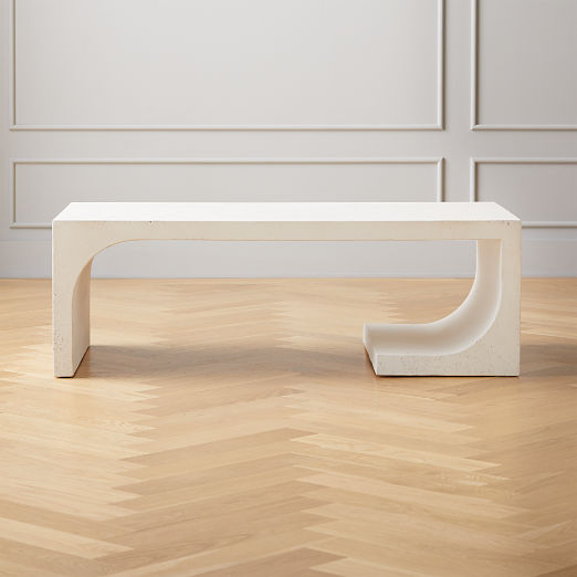 Slope Cement Coffee Table
