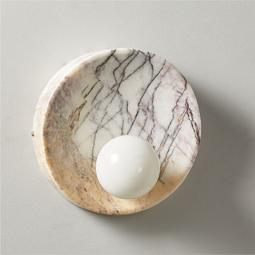Slope Marble Sconce