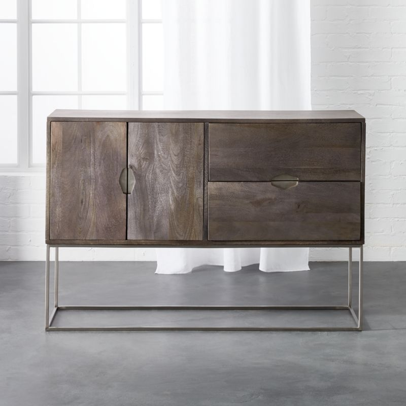 Etonnant Smythe Mango Wood Console + Reviews | CB2