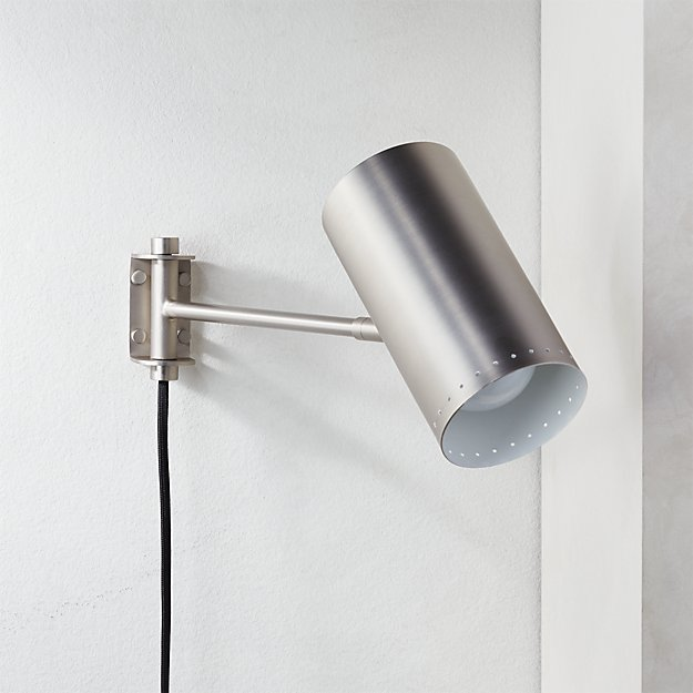 Solo Wall Sconce Nickel - Image 1 of 5