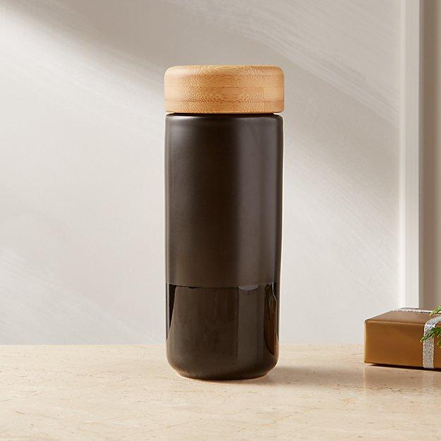 Soma Black Ceramic Mug - Image 1 of 3