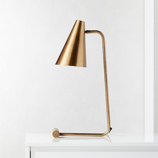 Sonata Brass Table Lamp