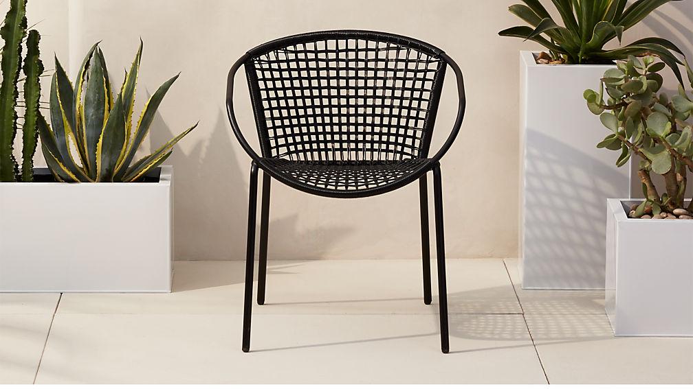 Sophia Black Dining Chair Reviews Cb2