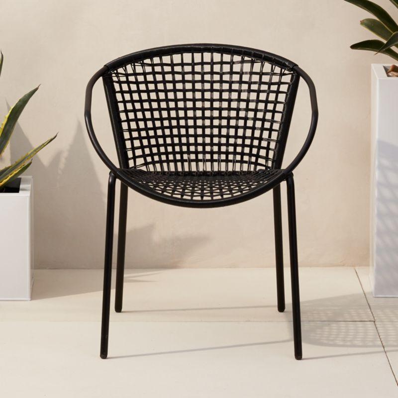 Merveilleux Sophia Black Dining Chair