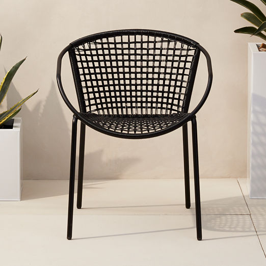Sophia Black Dining Chair  sc 1 st  CB2 & Crate and Barrel Chairs | CB2