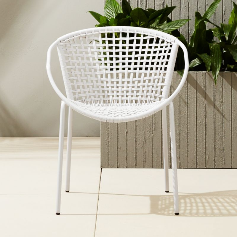modern outdoor chairs | CB2
