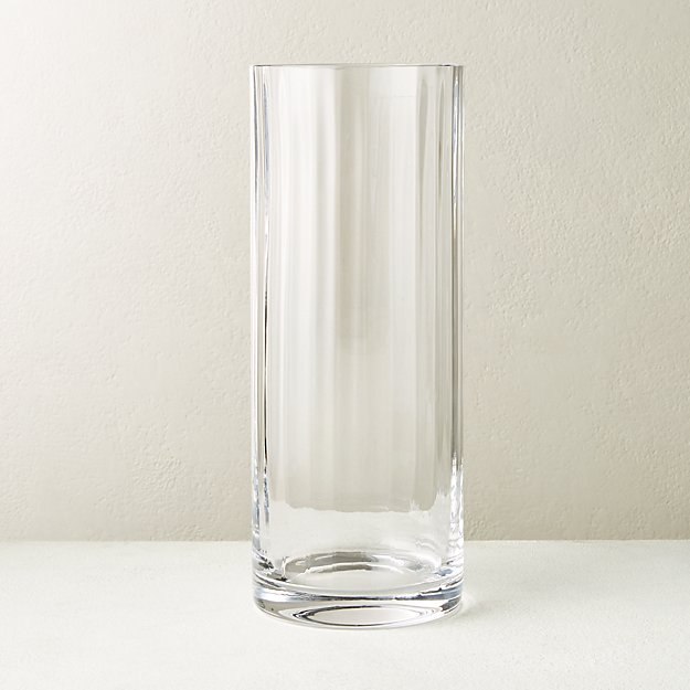 Sophia Clear Glass Vase - Image 1 of 4
