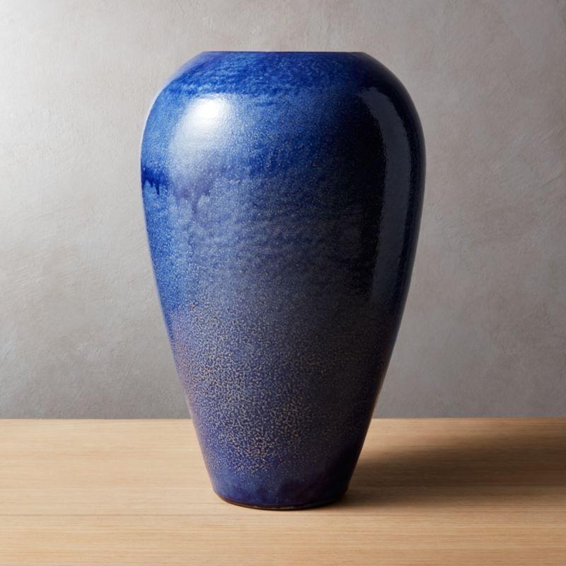 Blue Vases Cb2