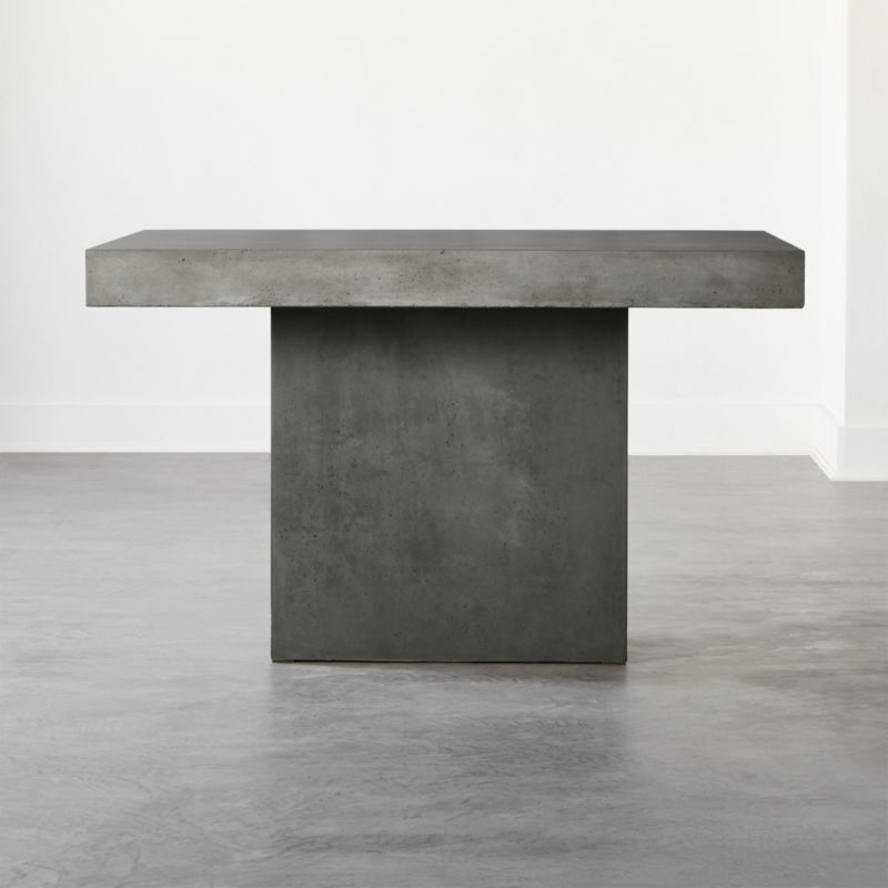 Span Small Grey Dining Table Reviews Cb2