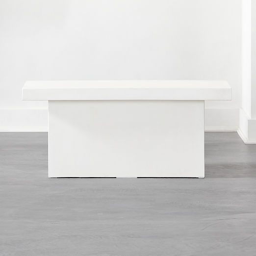 Span Small Ivory Bench