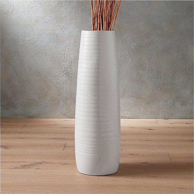 Spin Glossy Vase Reviews Cb2