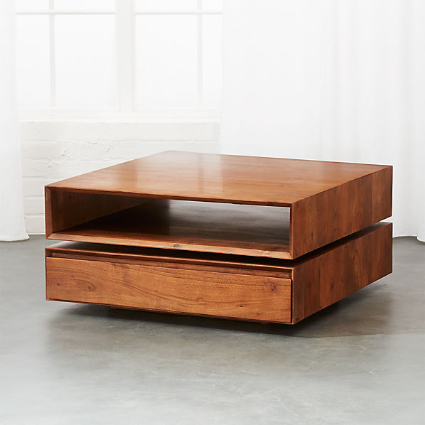 Spin Rotating Coffee Table Reviews Cb2