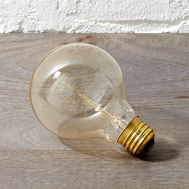 Spiral Filament 40W Light Bulb - Image 1 of 6