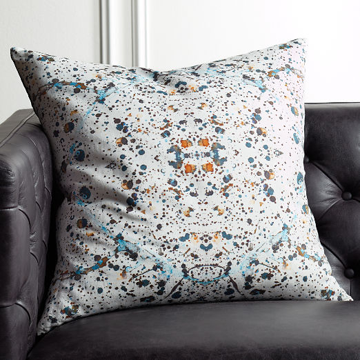 "23"" Splatter Pillow"