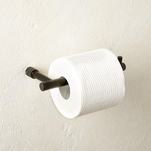 Sprocket Toilet Paper Holder Matte Black