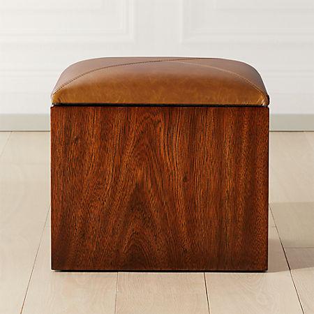 Awe Inspiring Squad Storage Ottoman Cb2 Dailytribune Chair Design For Home Dailytribuneorg