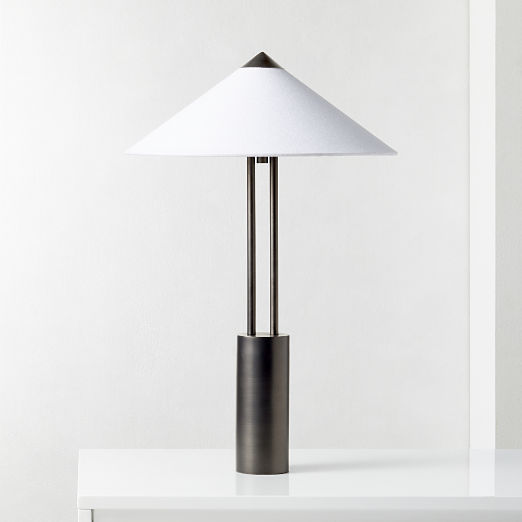 Staccato Gunmetal Table Lamp