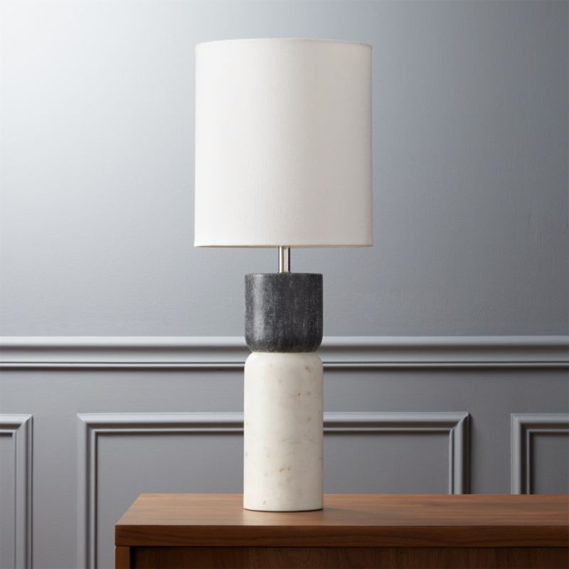 Modern Black Table Lamps Cb2