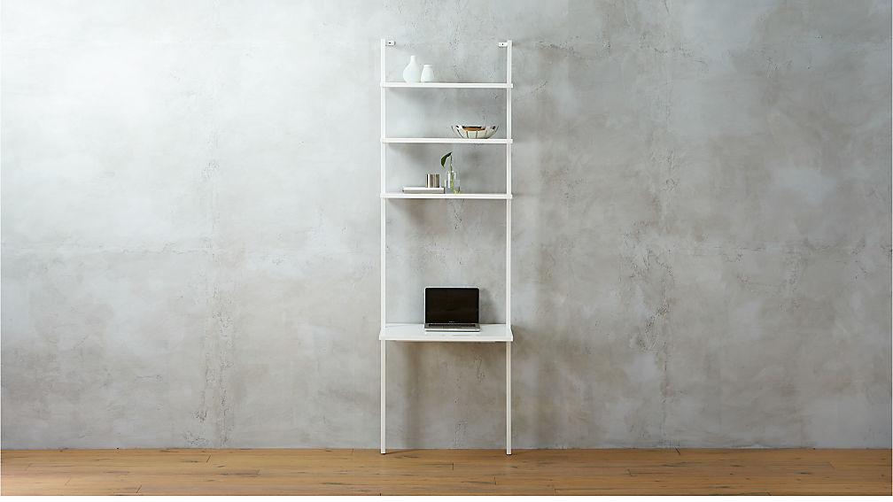 Stairway White Ladder Desk Reviews Cb2