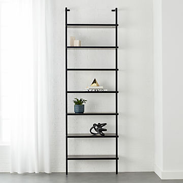 Peachy Modern Bookshelves And Bookcases Wall Ladder Cabinet Cb2 Home Interior And Landscaping Fragforummapetitesourisinfo