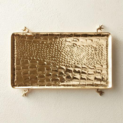 Stalk Gold Platter