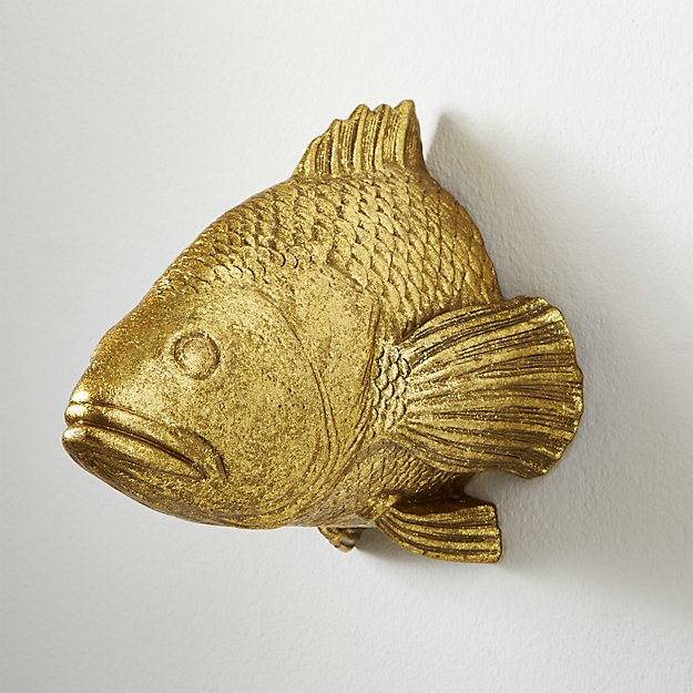 stan the goldfish wall hanging + Reviews | CB2