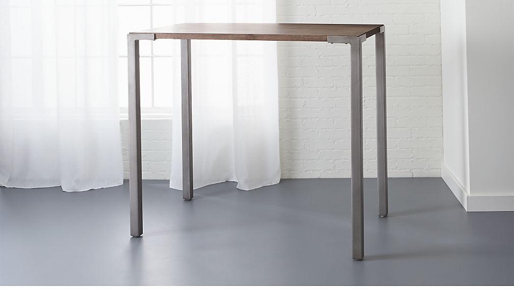 "Make A Side Table Taller: Stilt 42"" High Top Breakfast Table + Reviews"