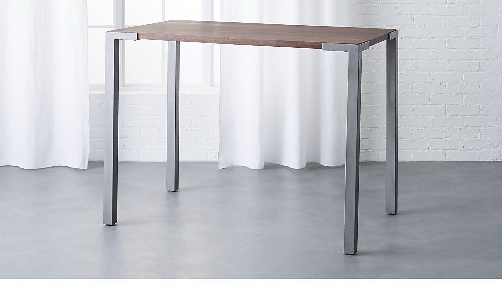 Stilt 36 Quot Wood Counter Table Reviews Cb2