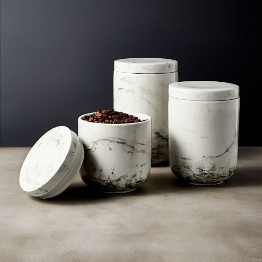 Stir Small Stoneware Canister