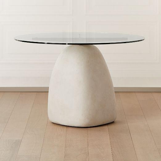 "Stone Table Round 47"""