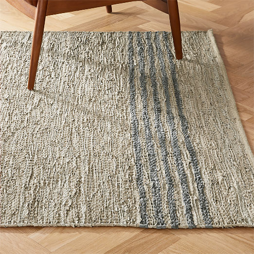 Strike Natural Leather Rug 8'x10'