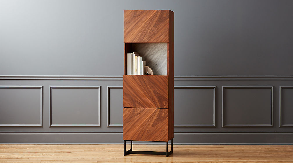 Suspend II Tall Bar Cabinet - Image 1 of 12