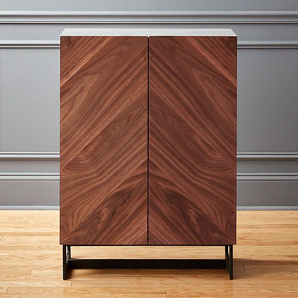 Attirant Suspend II Wood Entryway Cabinet