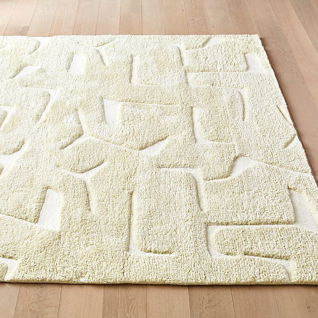 Sway Natural Tufted Rug - Image 1 of 3