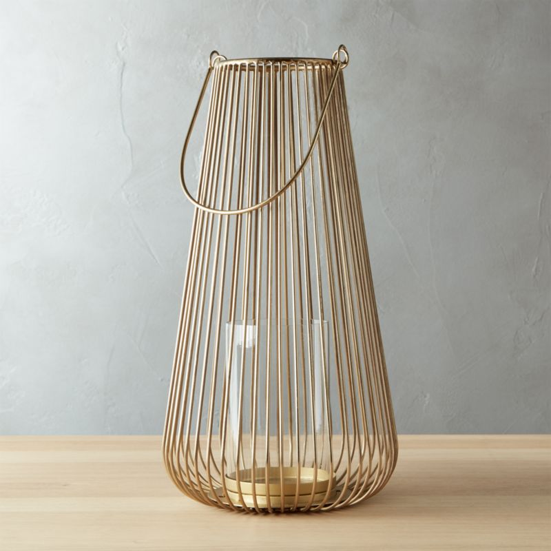 swoon-small-brass-hurricane by crate&barrel