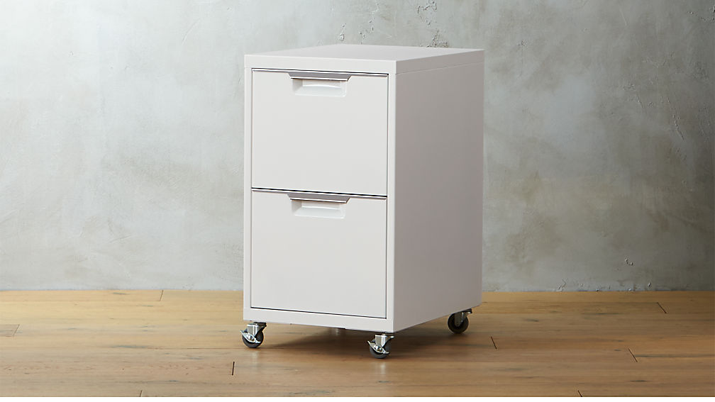 tps white 2-drawer filing cabinet + reviews | cb2 2 drawer file cabinet