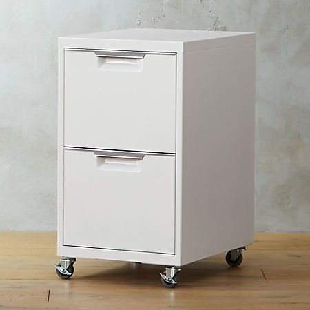 100% authentic b64ce 432f7 TPS White 2-Drawer Filing Cabinet