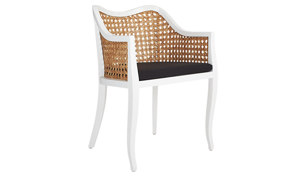 Delicieux Taybas Cane Rattan Chair + Reviews | CB2