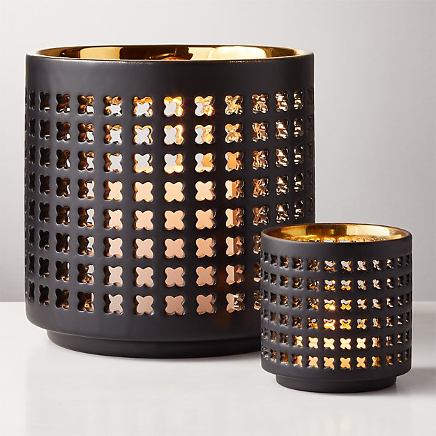 Tack Metallic Candle Holders - Image 1 of 12