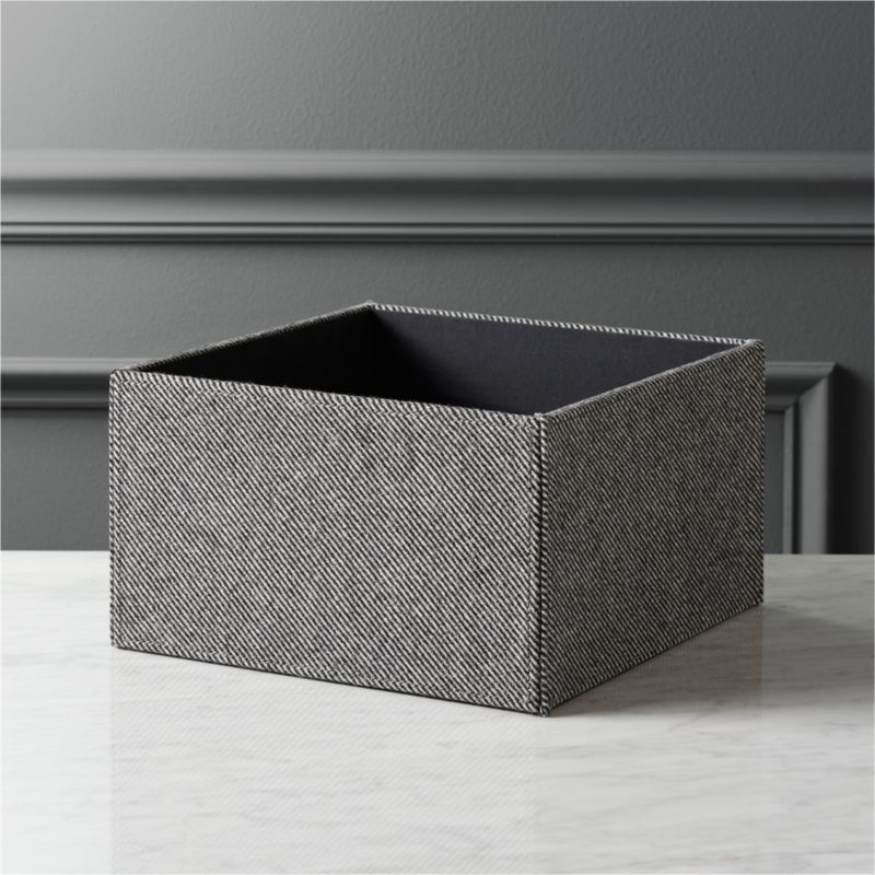 Tailor Open Storage Box + Reviews | CB2