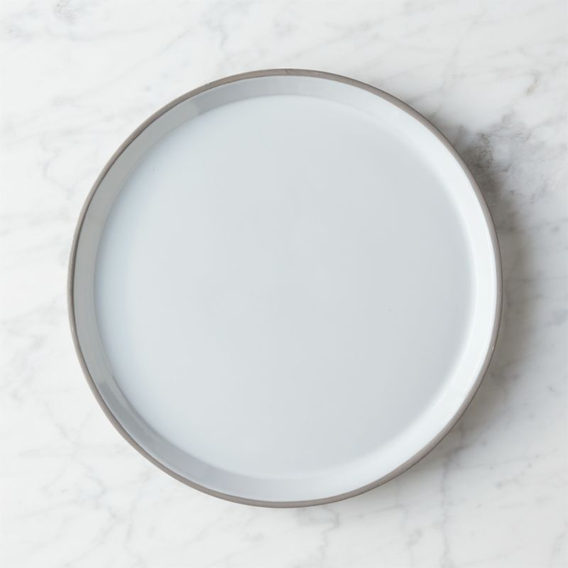 taper dinner plate & Grey Dinnerware | CB2