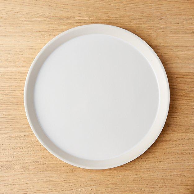 Taper White Dinner Plate - Image 1 of 8