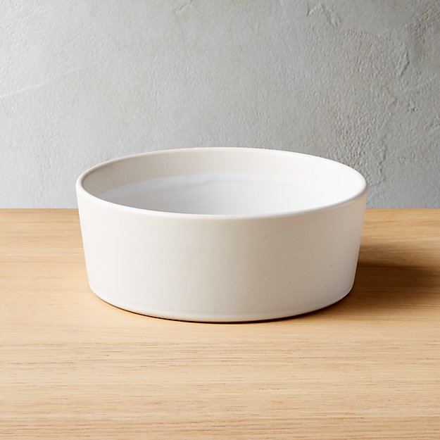 Taper White Soup Bowl - Image 1 of 8