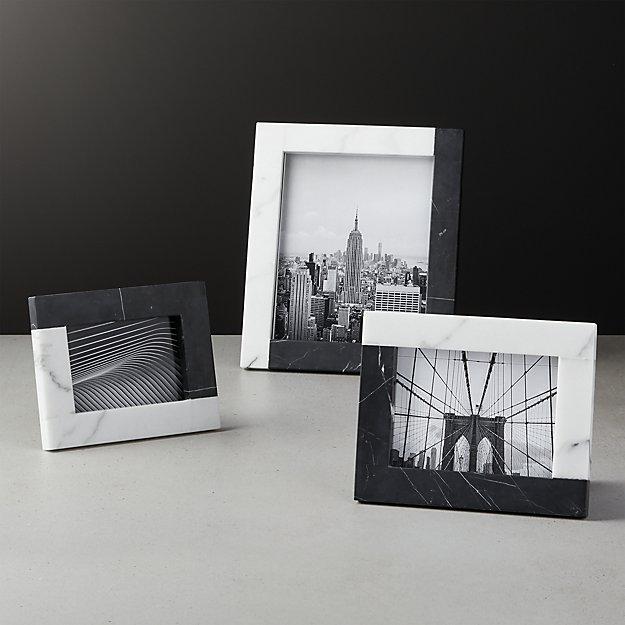 Tatum Marble Frames - Image 1 of 10