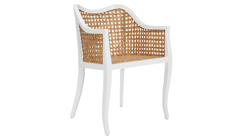 Taybas Cane Rattan Chair + Reviews | CB2