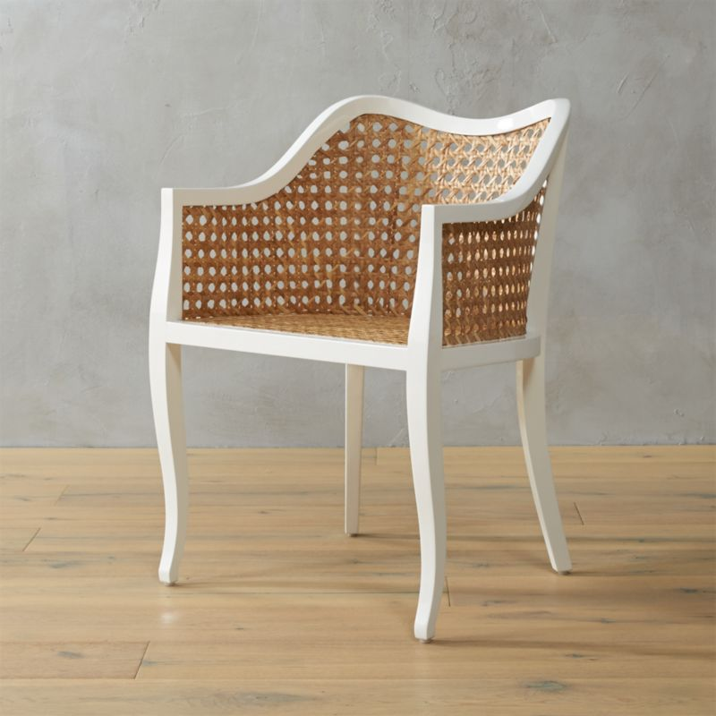 tayabas cane side chair & cane furniture | CB2